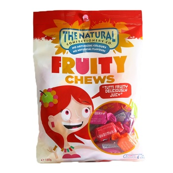 The Natural Fruity Chewy Mix 180g