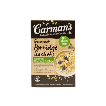 Carmans Almond Coco & Chia Gourmet Poriddge 320g