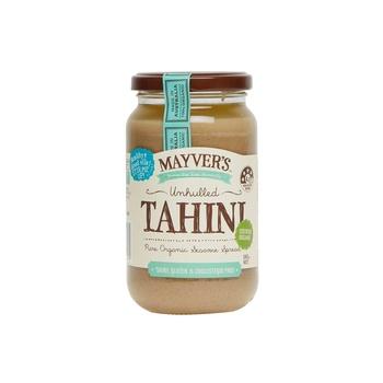 Mayvers Organic Unhulled Tahini 385g