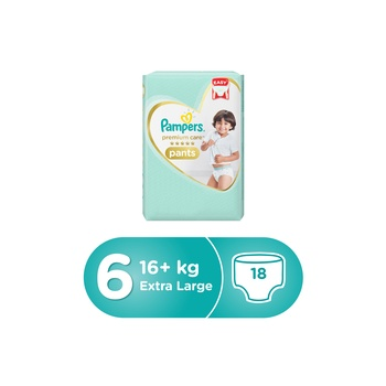 Pampers Pants Carry Pack Size 6 18 pcs