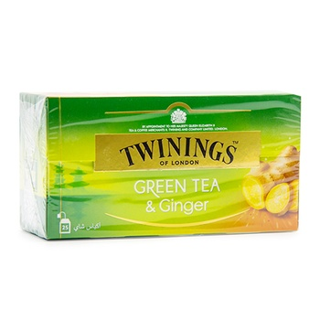 Twinings Green Tea Ginger 25's