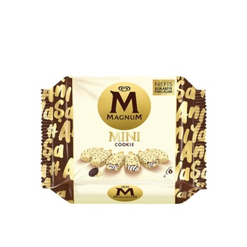 Magnum Mini Cookie & Almond Gcc 6X57.50ml