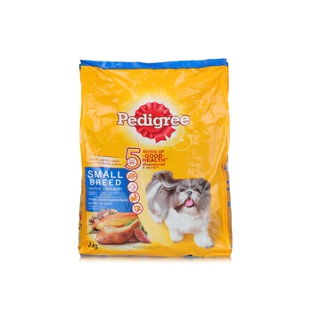 Pedigree Chicken Liver and Vegetables Flavor Toy & Small Breed 3kg