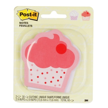 3M POST IT 2030 Cup Cake Shaped 2.9X2.9