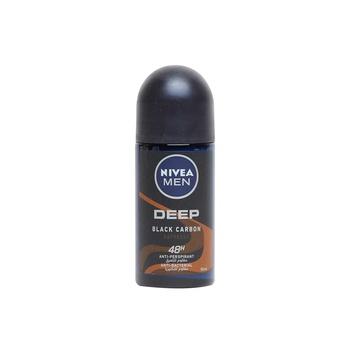 Nivea Men Deo Roll On  Deep Black Carbon 50ml