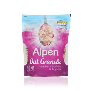 Alpen Oat Granola Blueberries Cranberries & Raspberries 375g
