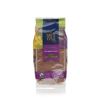 Tate + Lyle Dark Brown Soft Sugar 1kg