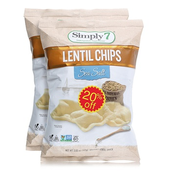 Simply7 Lentil Sea Salt 2x365oz