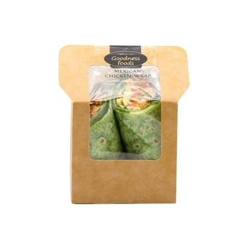 Goodnes Foods  Mexican Chicken Wrap 250g