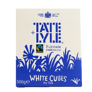 Tate & Lyle White Sugar Cubes 500g