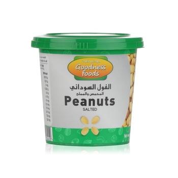 Goodness Foods  Peanut Salted Jar 200g