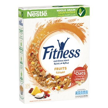 Nestle Fitness & Fruit 375g