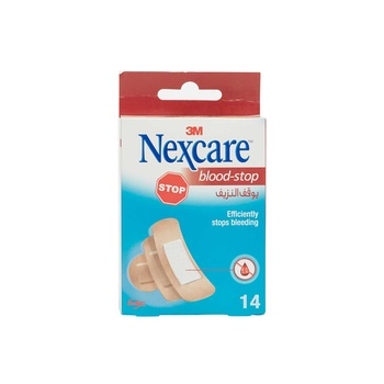 Nexcare Blood Stop Assorted Bandages 14 count