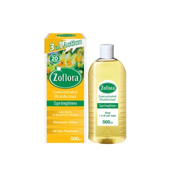 Zoflora Multipurpose Concentrated Disinfectant Springtime 500ml