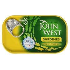John West Sardines Olive Oil 120g