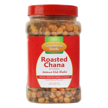 Goodness Foods Roasteed Channa Masala 400g