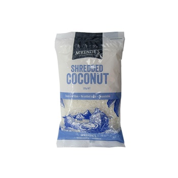 Mckenzies Shredded Coconut 215g