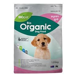 Biopet Bio Organic Puppy Dog Food 1.25kg