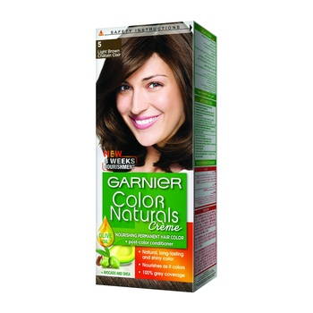 Garnier Color Naturals Crème 5 Light Brwn @25% Off