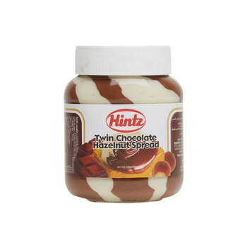 Hintz Twin Chocolate Hazelnut Spread 400g