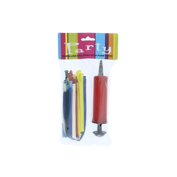 Balloon  with Pump -15pcs pack