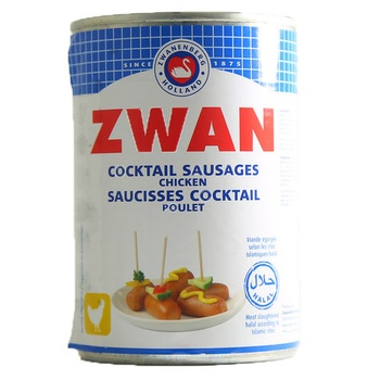 Zwan Cocktail Sausages Chicken 400g