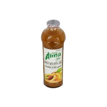 ALMA Juice Organic Apricot Juice with Apple Juice (free of sugar) 930ml