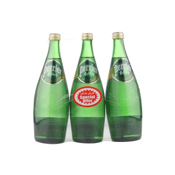 Perrier Sparkling Water 3 X 750 ml