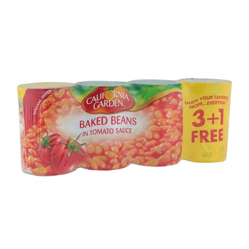 California Garden Baked Beans 4 x 420g