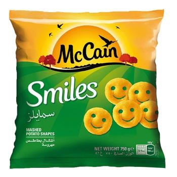 Mccain Smiles Potato 750g