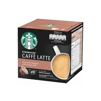 Starbucks Caffe Latte 12Caps 121.2g