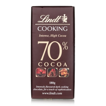 Lindt Cooking Intense 70% Cocoa 180g