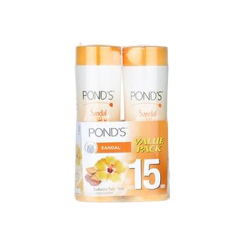 Ponds Sandal Radiance Talc 2 x 300 gms @ Special Price