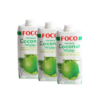 Foco Assorted Coconut Water 3x500 ml (2+1 Free)