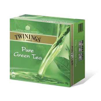 Twinings Pure Green Tea Bag 50s