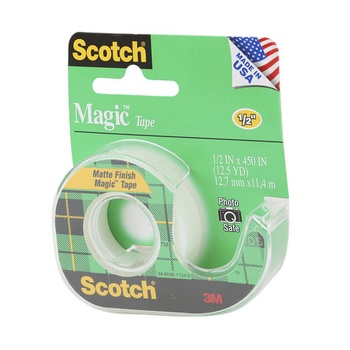 3M Scotch Magic Tape - 0.5 inch X 450 inch