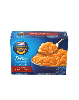 Kraft Macaroni & Cheese With Sharp Cheddar Cheese Sauce 397g