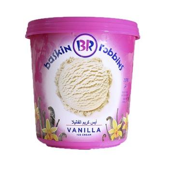 Baskin Robbins Vanilla Ice Cream 2ltr