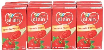 Al Ain Tomato Paste 8 x 135g