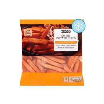 Tesco Sweet Potato Oven Chips 500g