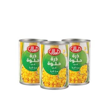 Al Alali Whole Kernel Corn 3X425g