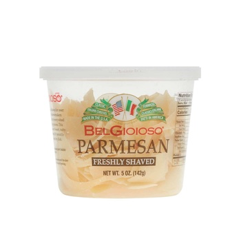 Belgioso Shaved Parmesan Cheese Cup 142g
