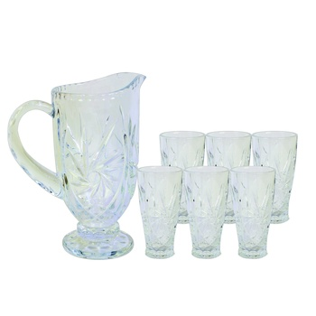 Water Jug with Tumbler 7 pcs Set