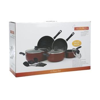 Chefs Pride Cookware Set 12 Pcs