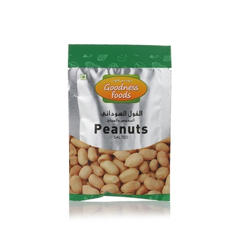 Goodness Foods Peanuts Salted Packet 20g