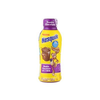 Nesquick low fat double chocolate milk 14floz
