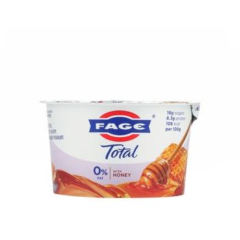 Total 0% Greek Yoghurt With Honey Fat Free 170g