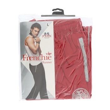 Frenchie Mens Track Pant Runner - L