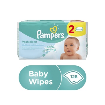 Pampers Wipes Reg Refill Duo