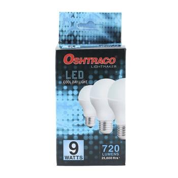 Oshtraco E27 Daylight  LED Bulb- 9 Watt